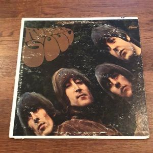 The Beatles rubber soul record